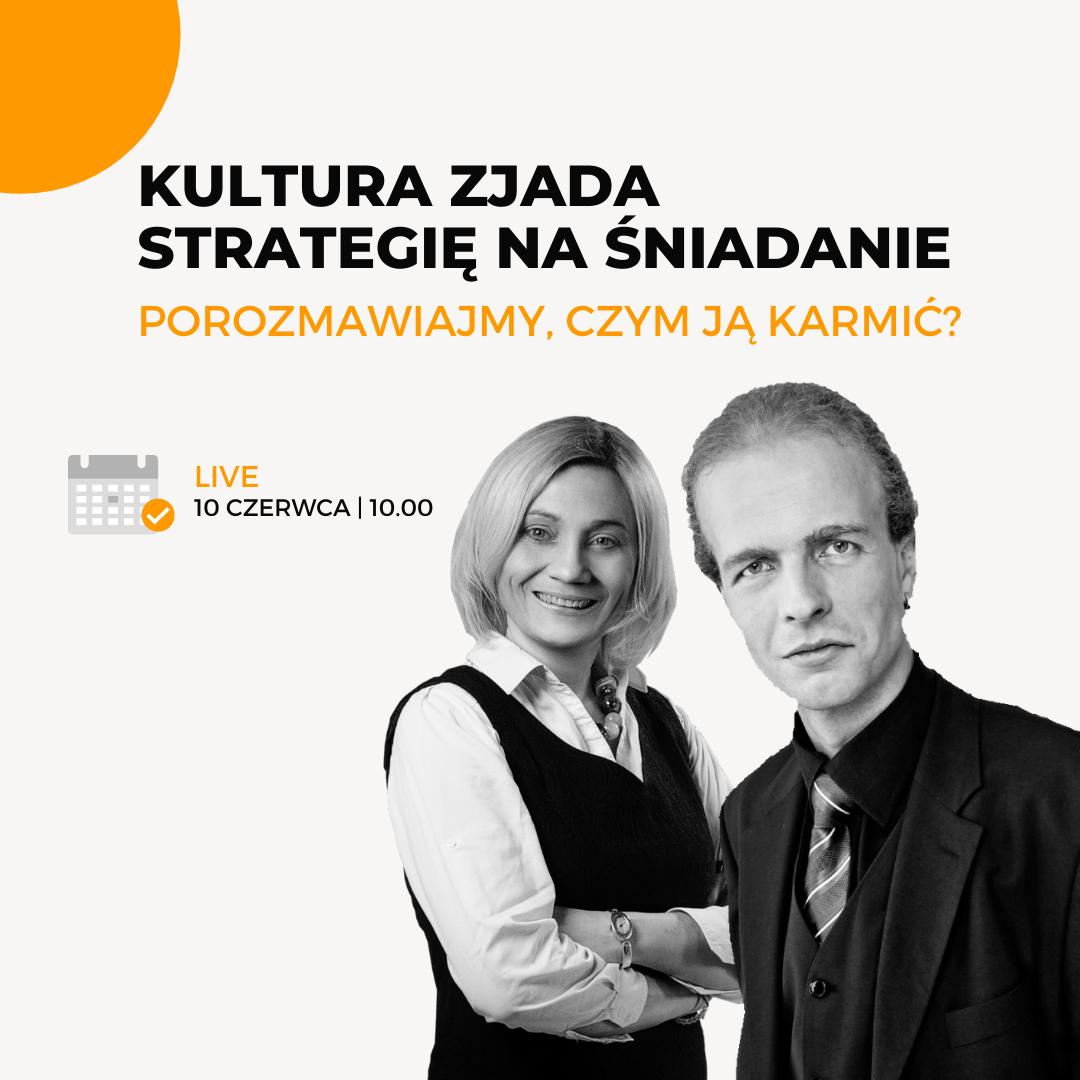 GoLeaders Kultura organizacyjna czerwiec live Ewa Gomułka Active Strategy
