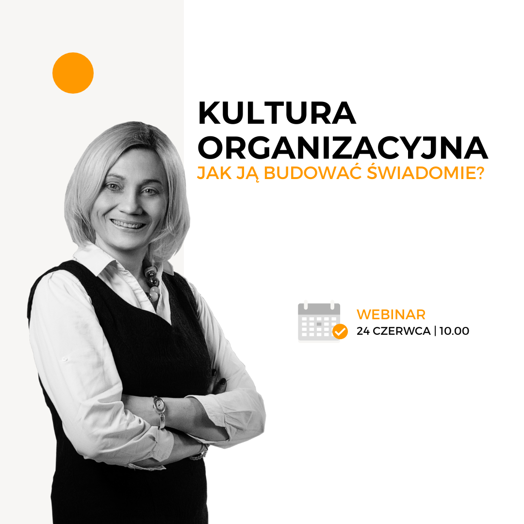 Kultura organizacyjna webinar Active Strategy Ewa Gomułka