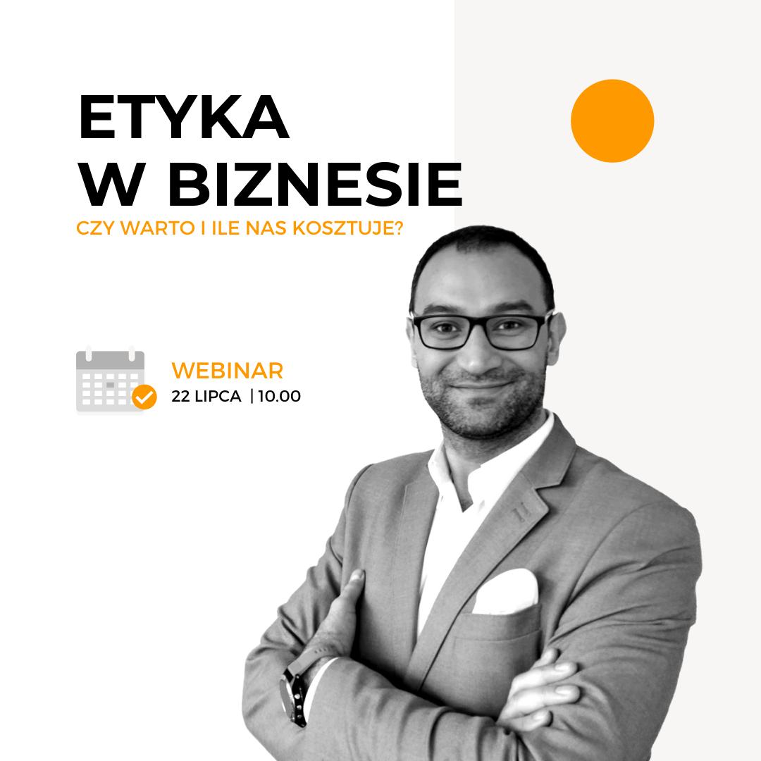 Etyka w biznesie webinar Active Strategy Wojciech Paździor